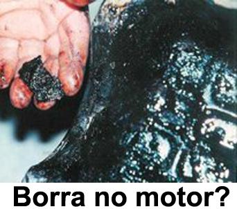 Como evitar formação de borra no motor?