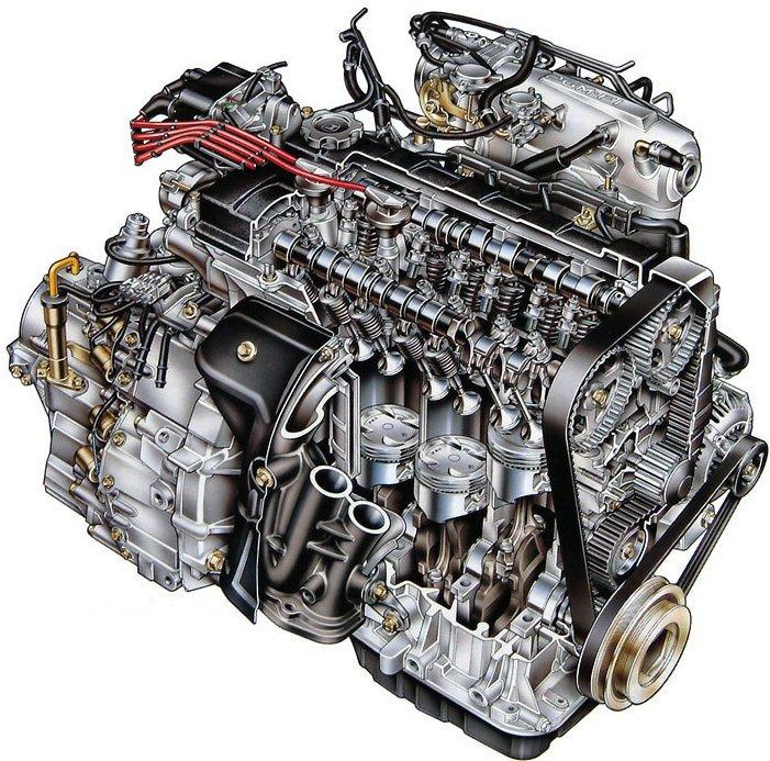 Como funciona o motor do seu carro??